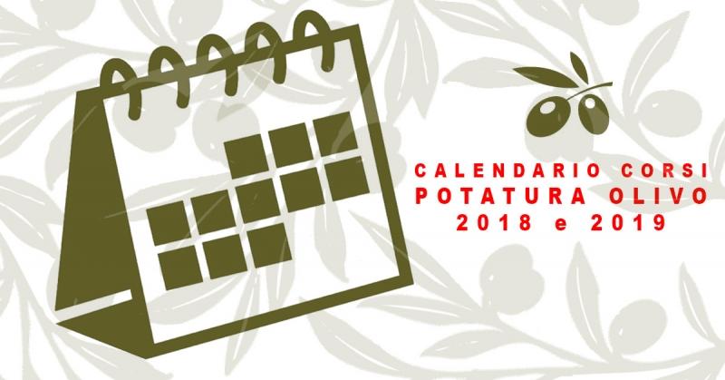Calendario Trattamenti Olivo Biologico.Corso Potatura Olivo Calendario 2018 2019